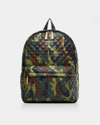MZ Wallace Green Camo Metro Backpack