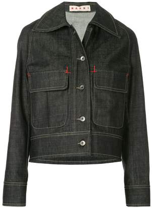 Marni flap pocket denim jacket