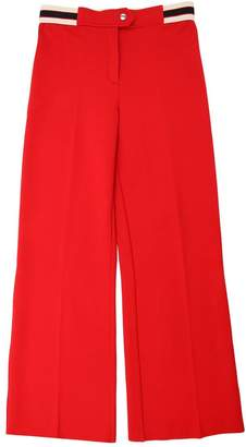 Gucci Flared Milano Jersey Viscose Pants