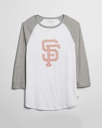 Express San Francisco Giants Baseball Tee
