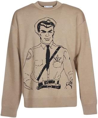 J.W.Anderson Policeman Sketch Jumper