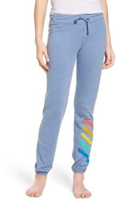 Women's Junk Food Stripe Lounge Pants $60 thestylecure.com