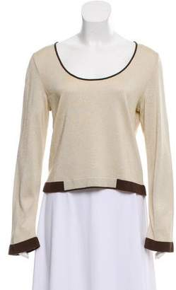 Chanel Long Sleeve Knit Top