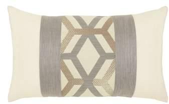Lustrous Lines Lumbar Pillow