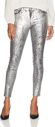 AG Adriano Goldschmied Women's Farrah Skinny Ankle Coated Denim Pants,