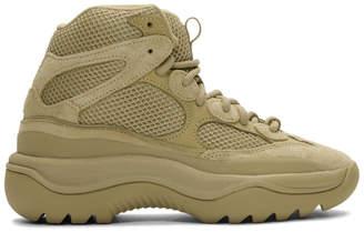 Yeezy Beige Desert Boot Sneakers