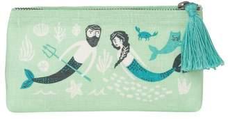 Linen Sea Spell Pencil Case