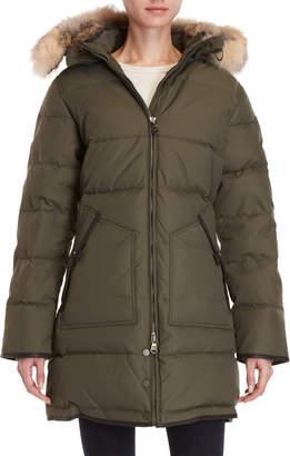 Pajar Canada Cougar Real Fur Trim Hooded Parka