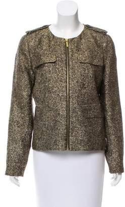 MICHAEL Michael Kors Metallic Silk Jacket