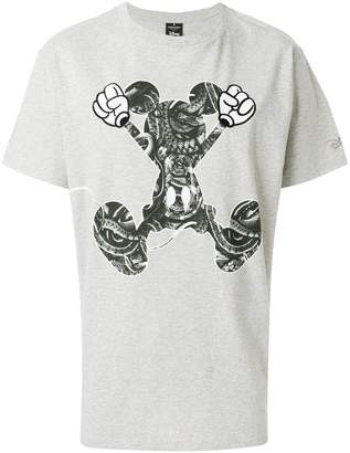 Marcelo Burlon County of Milan snake print Mickey T-shirt