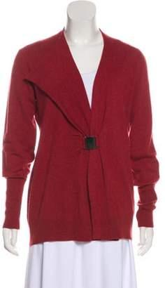 Brunello Cucinelli Cashmere Knit Cardigan Red Cashmere Knit Cardigan