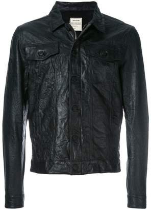 Zadig & Voltaire wrinkled jacket
