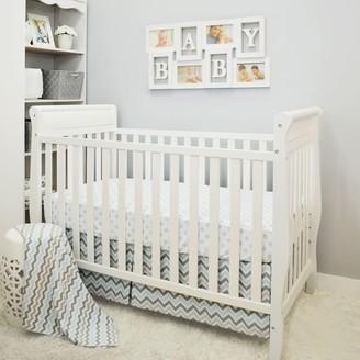 T.L.Care Tl Care TL Care 3-pc. Polka-Dot & Chevron Crib Bedding Set