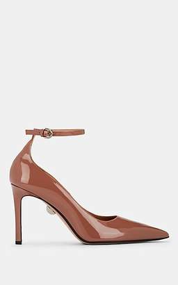 SAMUELE FAILLI Women's Patca Patent Leather Ankle-Strap Pumps - Rose Gold