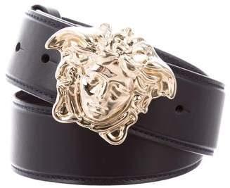 Versace Medusa Leather Waist Belt