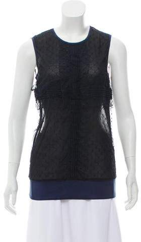 Chanel Lace Sleeveless Top