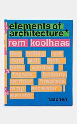 Taschen Elements Of Architecture