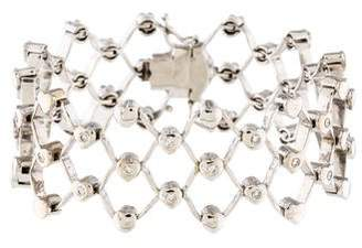18K Diamond Wrap Bracelet