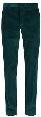 Prada Corduroy Trousers - Mens - Green