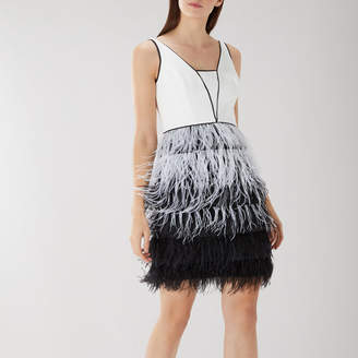 Coast KLARA FEATHER DRESS