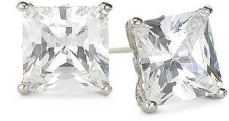 JCPenney FINE JEWELRY DiamonArt Sterling Silver 2\ CT. T.W. Cubic Zirconia Stud Earrings