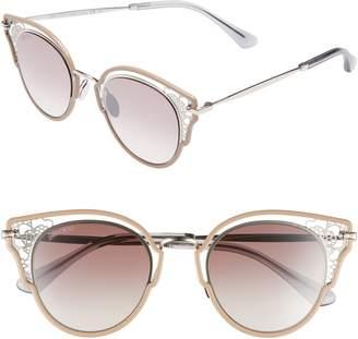 9e50ca7db1a5 at Nordstrom · Jimmy Choo Dhelias 48mm Cat Eye Sunglasses
