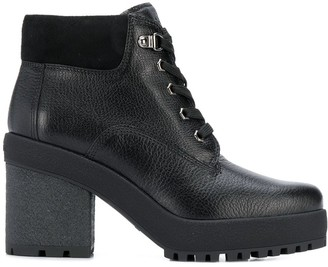 Hogan H475 heeled ankle boots