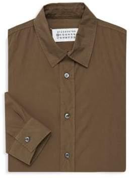 Maison Margiela Classic Cotton Dress Shirt