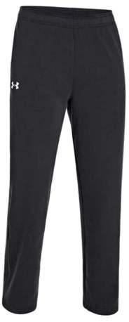 Under Armour Men's Rival Fleece Team Pant, 1246567 (Black, L)