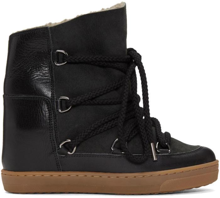Isabel Marant Black Nowles Boots