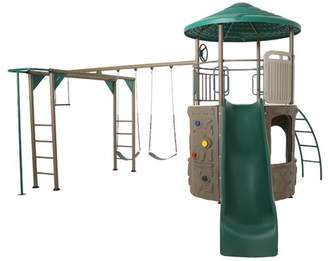 Lifetime Deluxe Adventure Tower Swing Set
