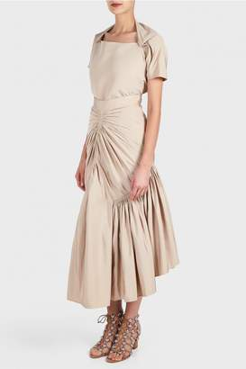 Maticevski Devoured Draped Skirt