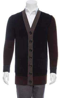 Marc Jacobs Wool and Cashmere-Blend Button-Up Cardigan