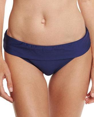 Splendid Stitch Banded Swim Bottom, Navy $58 thestylecure.com