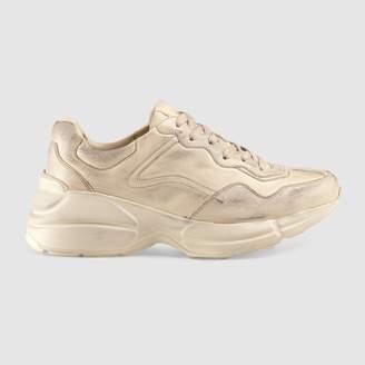 Gucci Rhyton leather sneaker