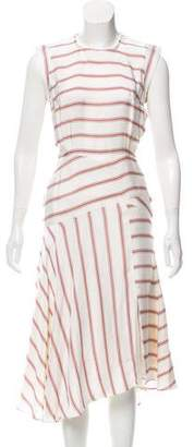 Veronica Beard Striped Maxi Dress