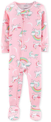 Carter's Carter Toddler Girls Cotton Unicorn Pajamas