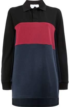 Koché color block polo shirt