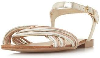 Dorothy Perkins Womens *Head Over Heels by Dune 'Loaki' Ladies Flat Sandals