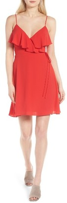 Women's Bailey 44 Surplice Minidress $218 thestylecure.com