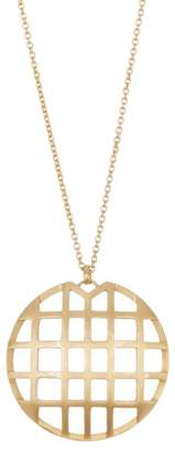 Botkier Round Cage Pendant Necklace