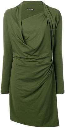 Plein Sud Jeans draped dress