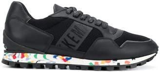 Dirk Bikkembergs printed sole sneakers