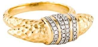 Phillips House 14K Diamond Mini Horn Ring