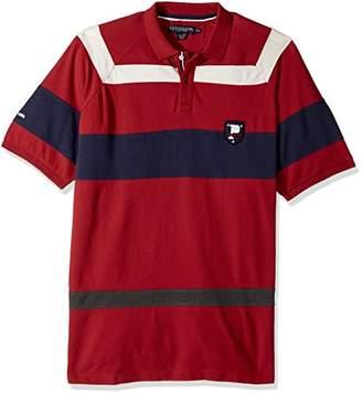 U.S. Polo Assn. Men's Classic Fit Color Block Short Sleeve Pique Shirt