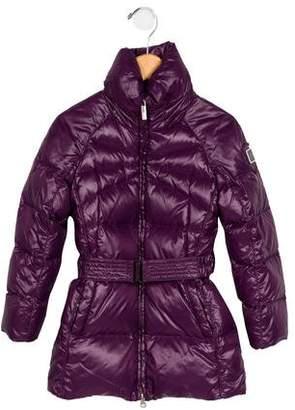 ADD Girls' Long Puffer Coat