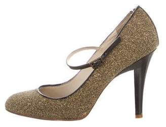 Marc Jacobs Embellished Round-Toe Pumps