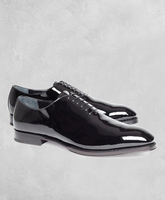 Brooks Brothers Golden Fleece Patent Leather Formal Shoes