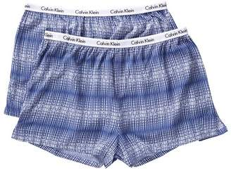 Calvin Klein Carousel Sleep Boyshort - Pack of 2