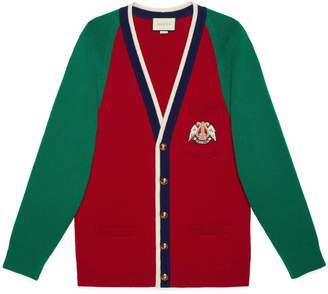 4e0bcfa9d Gucci Wool cardigan with lyre